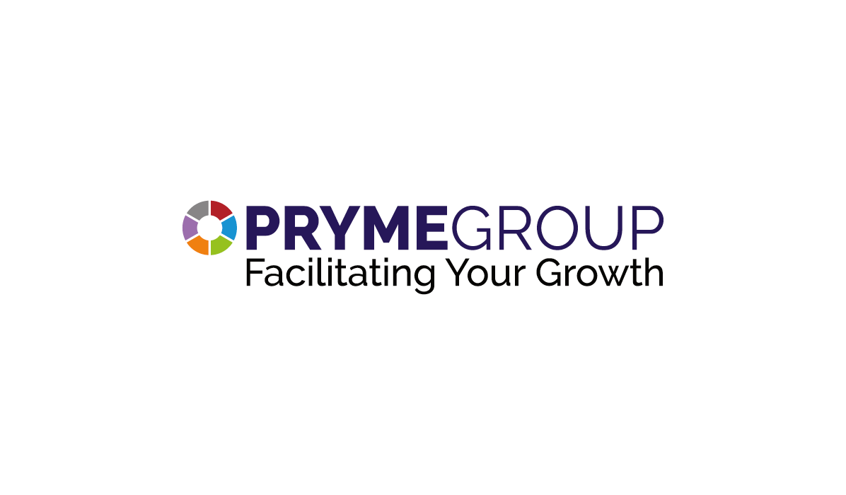 pryme group logo design by firesway design and digital