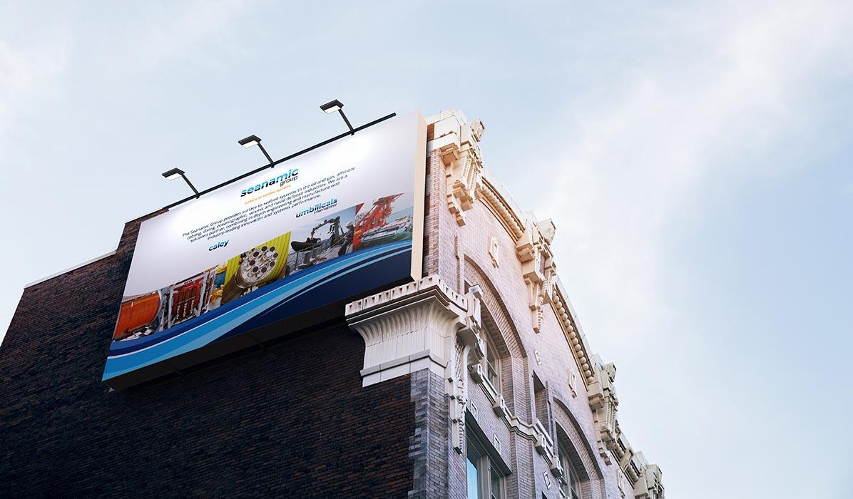seanamic exhibition banner design