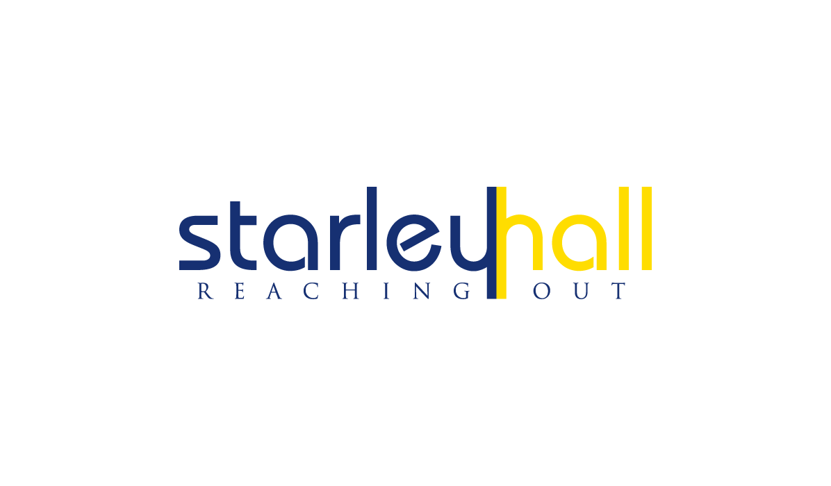 starley hall school burntisland logo design