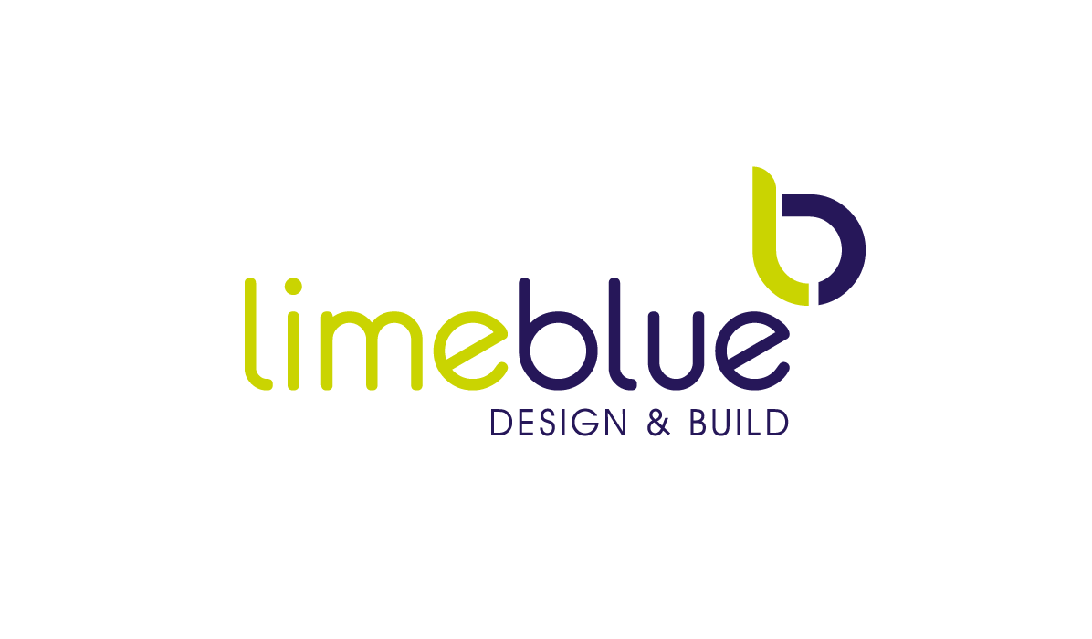 lime blue logo design by firesway design and digital