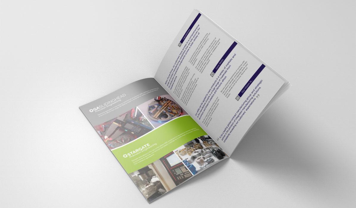 brochure design for Pryme Group