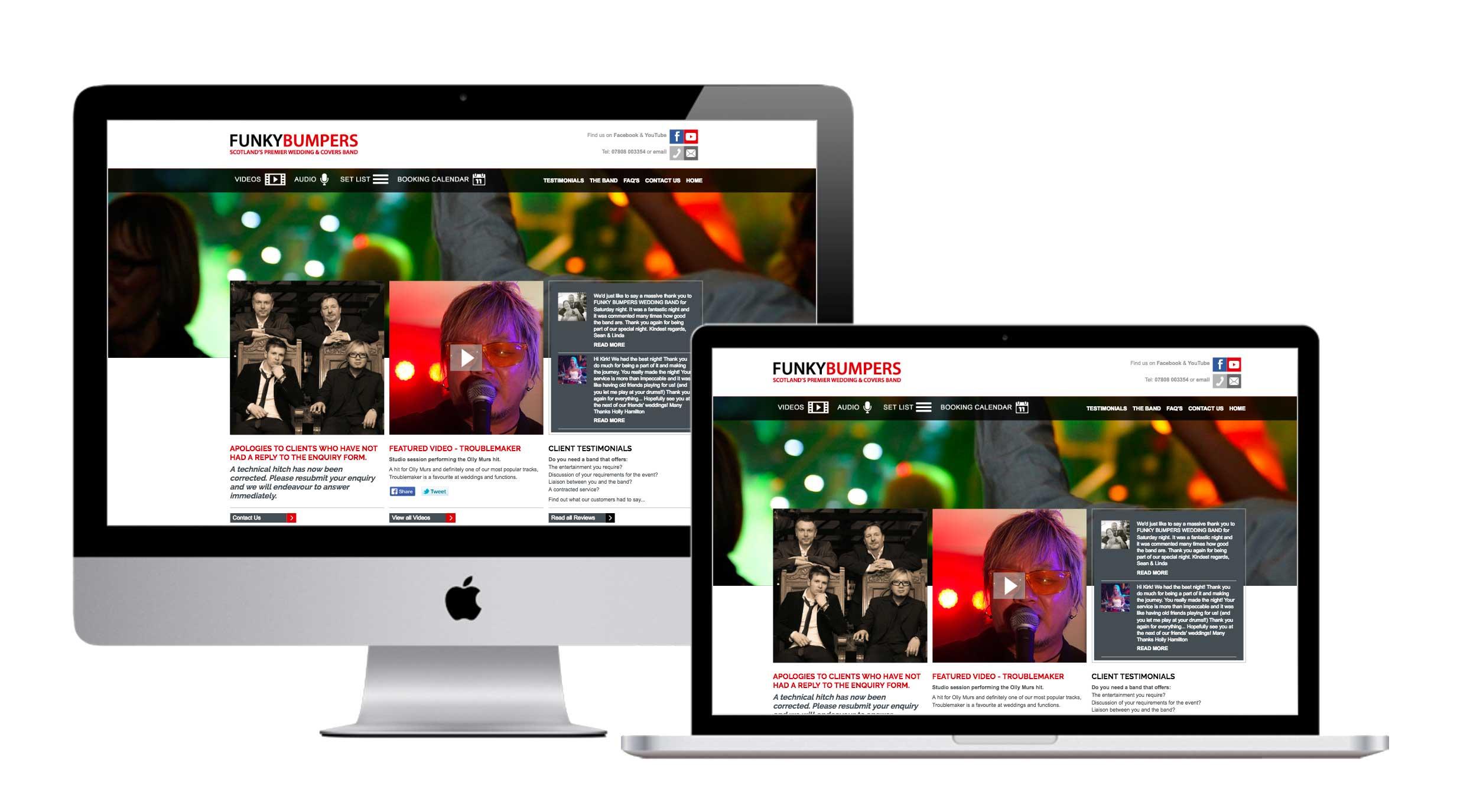 website-development-funky-bumpers